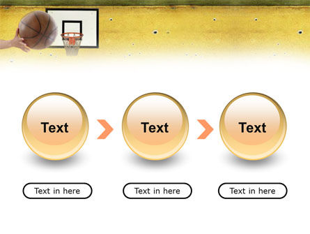 Basketball Of Youth PowerPoint Template Slide 5