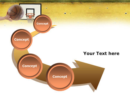 Basketball Of Youth PowerPoint Template Slide 6