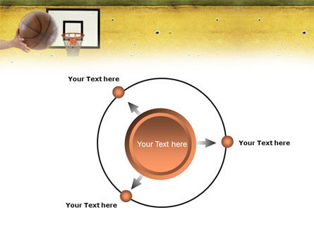 Basketball Of Youth PowerPoint Template Slide 7