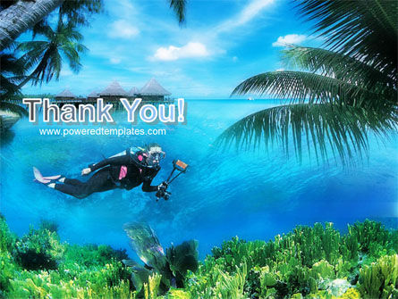 Scuba Diver PowerPoint Template Slide 20