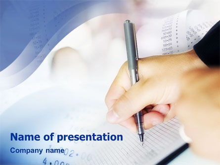 Bookkeeping PowerPoint Template
