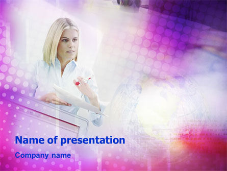 Consulting PowerPoint Template, 01327, Consulting — PoweredTemplate.com