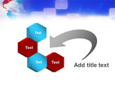 Red & Blue Globe PowerPoint Template#11