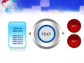 Red & Blue Globe PowerPoint Template#12