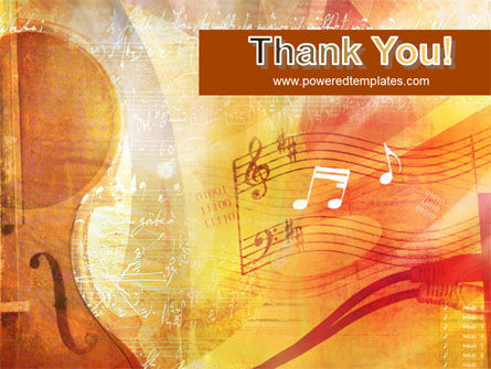 Violin PowerPoint Template Slide 20