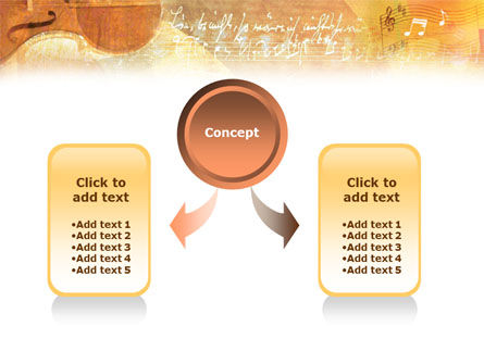 Violin PowerPoint Template, Slide 4, 01332, Art & Entertainment — PoweredTemplate.com