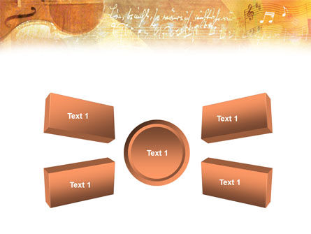 Violin PowerPoint Template Slide 6