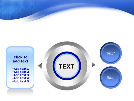 Blue Cipher PowerPoint Template Slide 12
