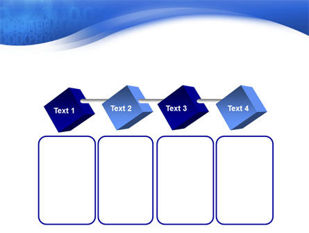 Blue Cipher PowerPoint Template Slide 18