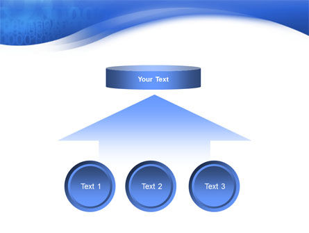 Blue Cipher PowerPoint Template Slide 8