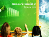 Education & Training: Blackboard In The Sky PowerPoint Template #01335