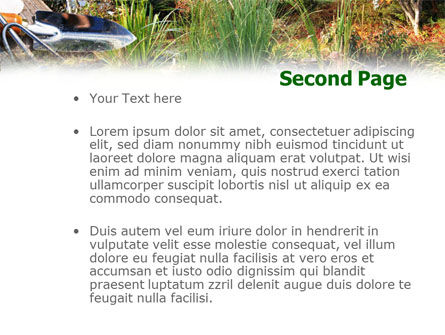 Gardening PowerPoint Template, Slide 2, 01338, Nature & Environment — PoweredTemplate.com