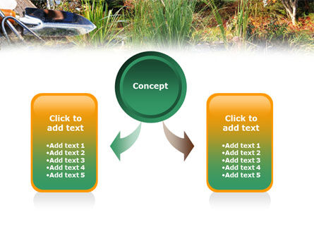 Gardening PowerPoint Template, Slide 4, 01338, Nature & Environment — PoweredTemplate.com