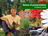 Nature & Environment: Gardening PowerPoint Template #01338
