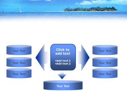 Island in the Sea PowerPoint Template Slide 13