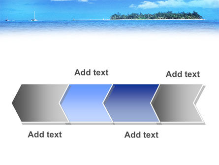 Island in the Sea PowerPoint Template Slide 16