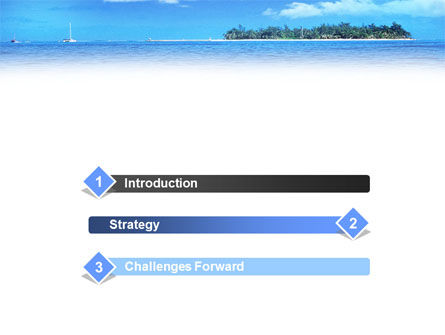 Island in the Sea PowerPoint Template Slide 3