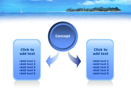 Island in the Sea PowerPoint Template, Slide 4, 01340, Holiday/Special Occasion — PoweredTemplate.com