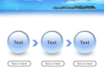 Island in the Sea PowerPoint Template Slide 5