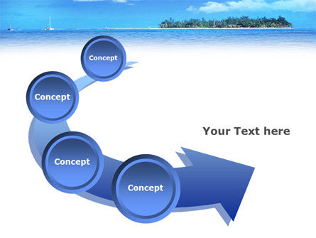 Island in the Sea PowerPoint Template Slide 6