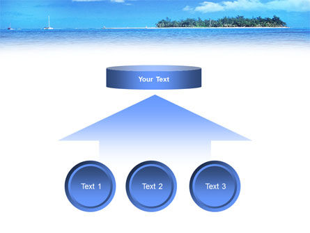 Island in the Sea PowerPoint Template Slide 8
