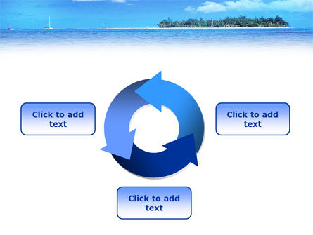 Island in the Sea PowerPoint Template Slide 9