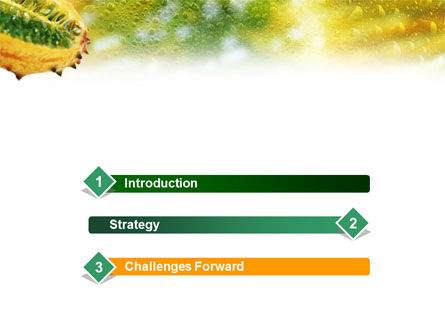 Exotic Fruit PowerPoint Template Slide 3
