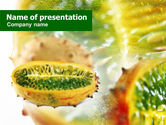 Food & Beverage: Exotic Fruit PowerPoint Template #01342