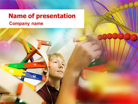 DNA Model PowerPoint Template
