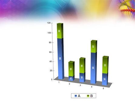 DNA Model PowerPoint Template Slide 17