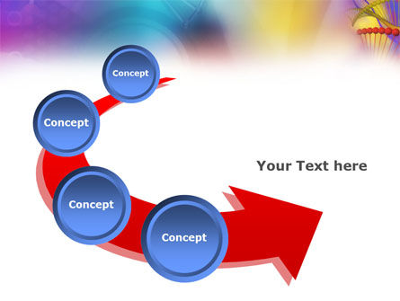 DNA Model PowerPoint Template Slide 6