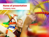 Education & Training: DNA Model PowerPoint Template #01346