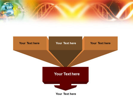 DNA genetics PowerPoint Template, Slide 3, 01350, Medical — PoweredTemplate.com