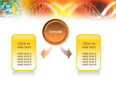 DNA genetics PowerPoint Template, Slide 4, 01350, Medical — PoweredTemplate.com