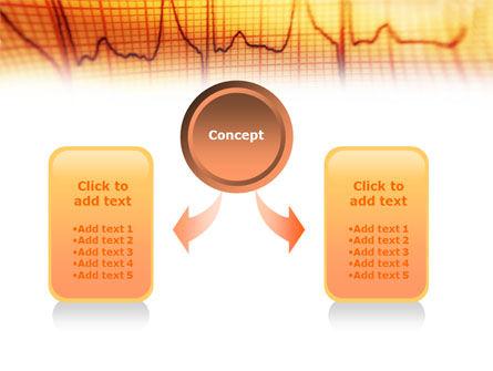 Cardiogram PowerPoint Template, Slide 4, 01359, Medical — PoweredTemplate.com