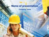Careers/Industry: Modèle PowerPoint de supervision architecturale #01362