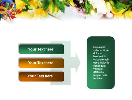 Flower Ornamentation PowerPoint Template Slide 11