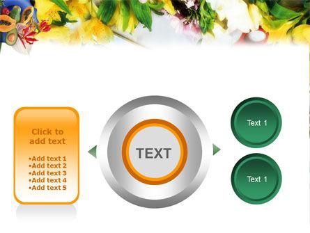 Flower Ornamentation PowerPoint Template Slide 12