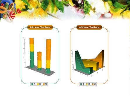 Flower Ornamentation PowerPoint Template Slide 13