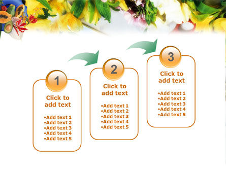 Flower Ornamentation PowerPoint Template Slide 14