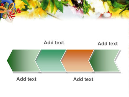 Flower Ornamentation PowerPoint Template Slide 16