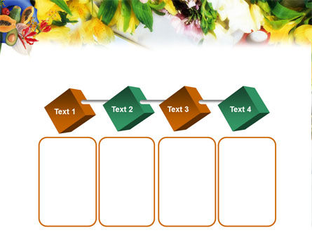 Flower Ornamentation PowerPoint Template Slide 18