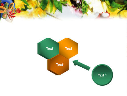Flower Ornamentation PowerPoint Template Slide 19