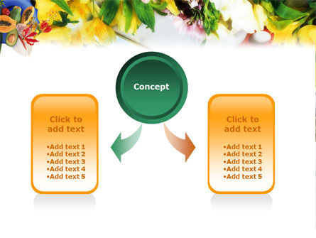 Flower Ornamentation PowerPoint Template Slide 4