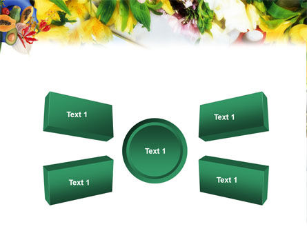 Flower Ornamentation PowerPoint Template Slide 6