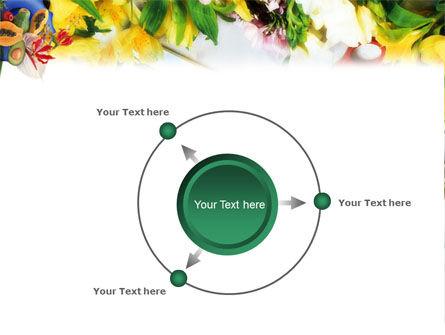 Flower Ornamentation PowerPoint Template Slide 7