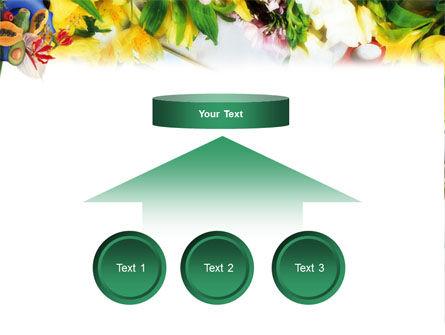 Flower Ornamentation PowerPoint Template Slide 8
