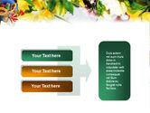 Flower Ornamentation PowerPoint Template#11
