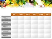 Flower Ornamentation PowerPoint Template#15