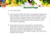 Flower Ornamentation PowerPoint Template#2